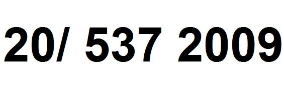 a telefonszámom 20 537 2009